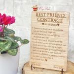 Kontrata e miqësisë në dru