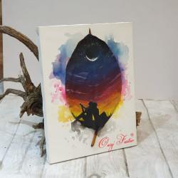 """Pikturë """"Dashuria në dritën e hënës"""""""
