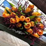 Buqetë me tulipanë