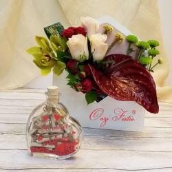 Kompozim lulesh në zarf