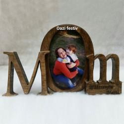 Kornizë druri Mom