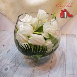 Tulipana në qelq